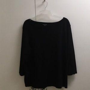 Eileen Fisher boatneck 3/4 sleeve tunic size 3x